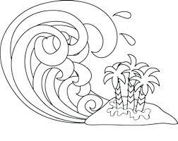 Waves Coloring Pages Ocean Waves Coloring Pages For Adults Sesame