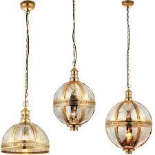 mercury glass lamp dome shade