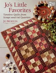 Wish List Day! New quilt books: strips, snow, and Jo (+ giveaway ... & Jo's Little Favorites Adamdwight.com