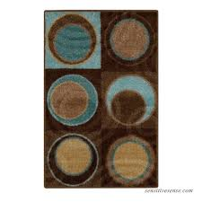 better homes and gardens circle block textured print area rugs or runner multiple sizes and colors 556615447