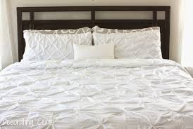 i plan to some pillows to add some color to the bed i don t want it to be all white
