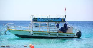 Barbados glass bottom boat