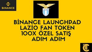 Binance Launchpad - Lazio Fan Token - 100X Özel Satış Katılımı - Adım Adım  - YouTube