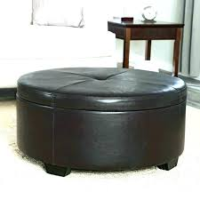 new ottoman coffee table brown leather ottoman coffee table round leather cocktail ottoman sophisticated large brilliant