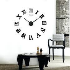 Wall Clocks Huge Wall Clock Extra Large Wall Clock Kit Uk Huge