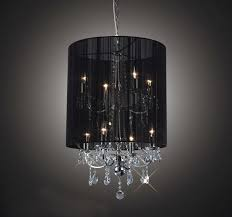 chandelier black shade plush black shade double crystal chandelier mini black chandelier shades