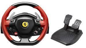 Thrustmaster Ferrari 458 Spider Racing Wheel Xbox One Amazon De Games