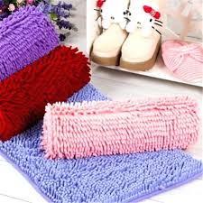 chenille bath rugs fashion non slip mat microfiber and carpets for living room vintage bathroom chenille bath rugs