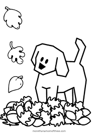 Small Picture Preschool Fall Coloring Pages Free Coloring Pages For Fall