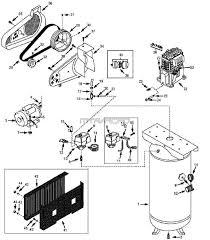 Vt6314 vt6314hdrb vt aj air pressor parts