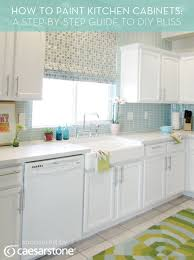 how to paint kitchen cabinets a step by step guide to diy bliss painting kitchen cabinets