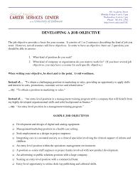 Job Resume Objective Statement Job Resume Objective Statement Sevte 17