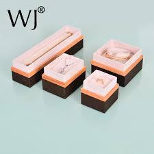 fine wood jewelry box handmade organizer for ring pendant necklace bracelet gift display showcase wedding jewellery stoarge case