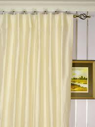 ... Oasis Traditional Solid Back Tab Dupioni Silk Curtains Heading Style  Oasis Traditional Solid Back Tab Dupioni Silk Curtains Heading Style ...