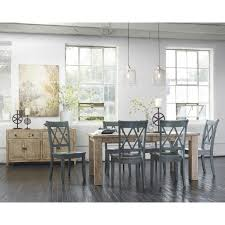 hardware dining table exclusive: loon peakampreg castle pines dining table