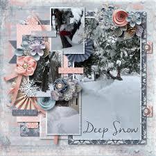 Tinci Designs Deep Snow By Rebecca Galla Pixel Scrapper Digital Scrapbooking