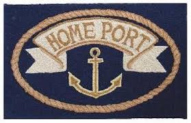 home port nautical rug