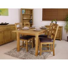 canada oak dining extending table