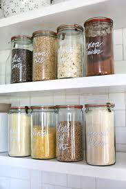 Kitchen Organisation Try This Paint Pen Kitchen Organization For Pantry Item