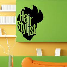 Hair Stylist Barbershop Salon Spa Wall