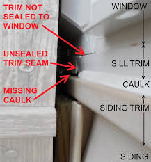 bad window replacement caulking job