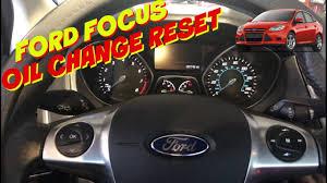 2016 Ford Focus Oil Change Light Ford Focus Oil Reset From 2012 2016 For Push Start None Push Start Oil Change Required