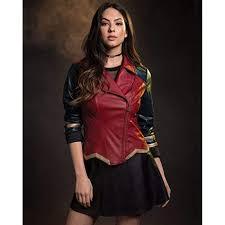 new 26 her universe dc comics wonder woman faux leather jacket