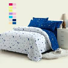 star bedding white moon and star bedding set white bed linen set with blue star by star bedding