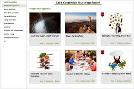 Wellness Newsletter Templates Health And Wellness Newsletters Health Experts Coaches