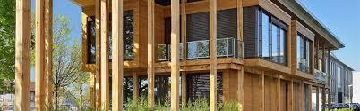 wooden office buildings. Le Pavillion Wooden Office Building Buildings