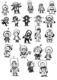 Astronaut Character Design Samtayloranimation Astronaut Drawing Space Illustration
