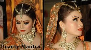 wedding makeup black and orange smokey eyes plete hair and makeup
