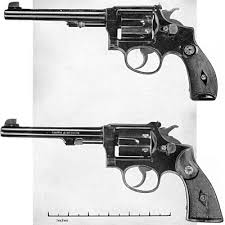 smith wesson 22 revolvers hand