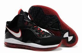 lebron 8 shoes. nike air max lebron 8(viii) black white red shoes lebron 8 a
