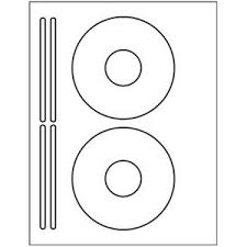 Details About 200 Cd Or Dvd Labels 5931 Template Used To Create 2 Cd 4 Spine Per Sheet