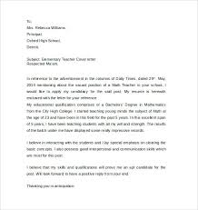 sample cover letter elementary teacher sample application letter for elementary teachers in the philippines