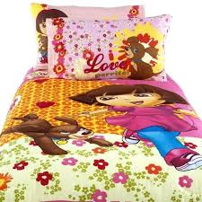 dora bedding beautiful bedding sets for girls with the explorer dora bedding twin size
