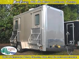 Bathroom Trailer Rental Inspiration Two Station Restroom Trailer Rental Right Trailers New And