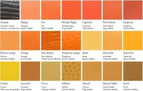 Hermes Color Chart 2016