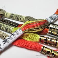 Dmc Coloris Corresponding Colors In Solids Needlenthread Com
