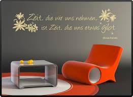 Spruch Zitat Wandtattoo Zeit Die Wir Uns Nehmen Zit004
