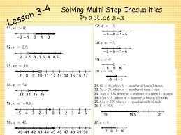 lesson 2 homework practice solve two step equations answers