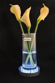vase lighting. Vase Lighting. 10pcs/lot 3AA Battery Operated 31WHITE LED 6inch Round Light Base Plaste Lighting