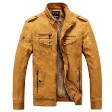 best male motorcycle fashion leather jacket men winter pilot leather jackets and coats biker mantel mens faux fur coat brand clothing under 41 71 dhgate