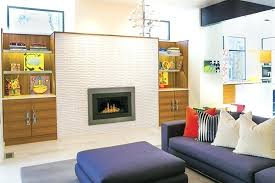 mid century modern electric fireplace home of the year best renovation mid century modern electric