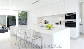 pure snow white solid surface kitchen countertops best