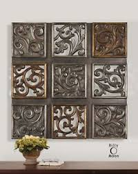 square metal large iron wall art details about large square antiqued silver and gold metal wall on big wall art metal with wall art best pictures large iron wall art canvas on demand big