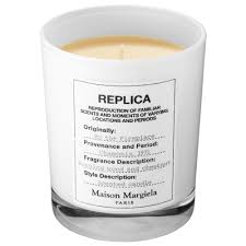 replica by the fireplace scented candle maison margiela sephora