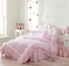 comforter sets full size girls bedding sets full inspire exquisite pink lace princess satin 100