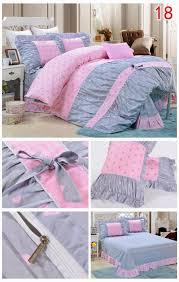 yadidi 100 cotton classic girls princess polka dot bedding sets bedroom bed duvet cover twin